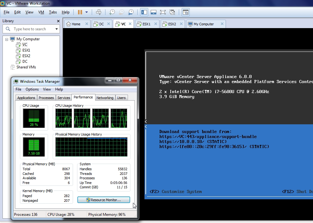 vCenter-Environment-in-8GB