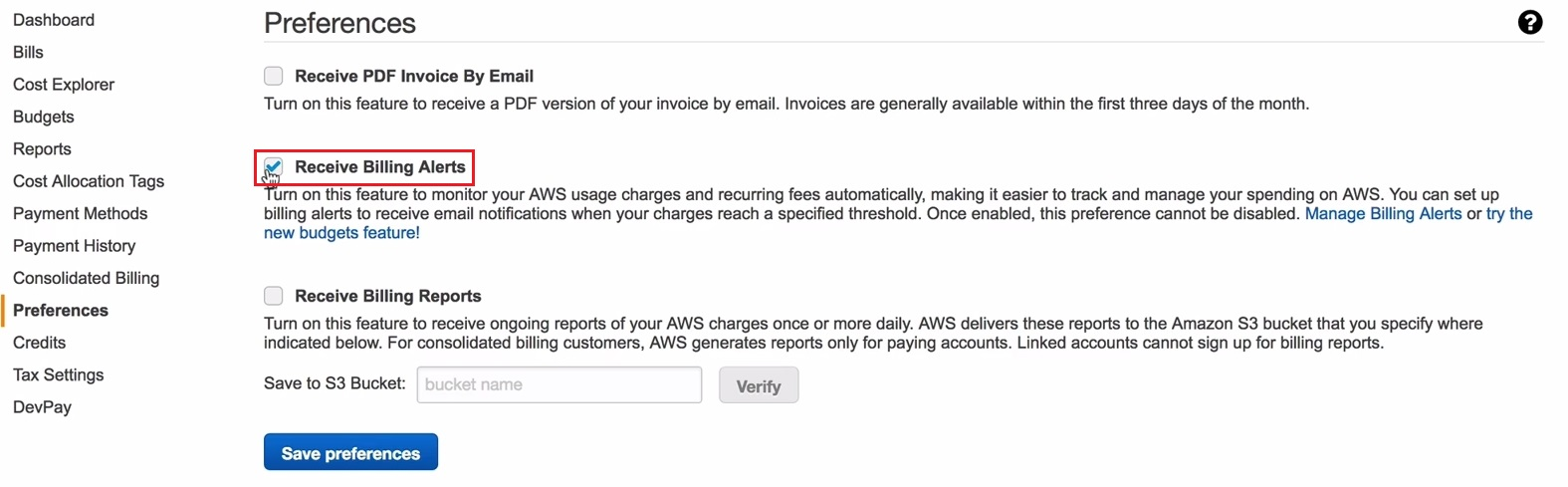 Creating a Billing Alarm in AWS – vAdmin-Land