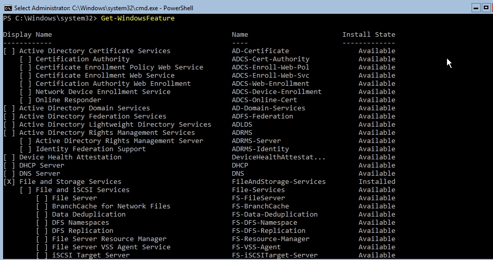 Installing Active Directory on Windows Server Core – vAdmin-Land